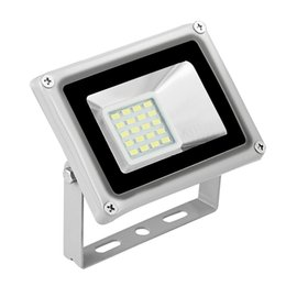 Wholesale 12v Led Floodlight Waterproof - 12V 10W LED Flood Light Waterproof IP65 Floodlight Landscape LED outdoor lighting LED Lamp Warm Cold White CE Rohs UL