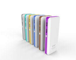 Wholesale Emergency Powerbank Battery - Powerbank Battery Case Power Bank 10000mah Led light Emergency External Rechargeable Power Banks For iPhone Android Top Quality