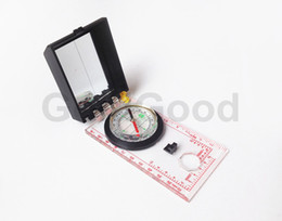 Wholesale Cross Maps - Camping Directional Cross-country Race Hiking Special Compass Baseplate Ruler Map Scale Compass Equipment With Reflective Mirror