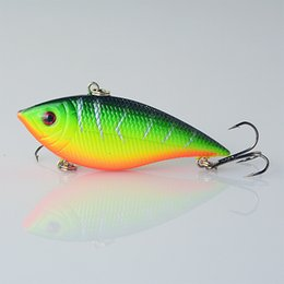 Wholesale Deep Water Crankbait - 1PCS Fishing Lure Lipless Trap 7CM 11.5G Crankbait Hard Bait Fresh Water Deep Water Bass Walleye Crappie Minnow Fishing Tackle