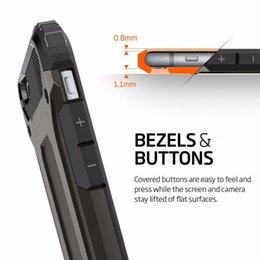 Wholesale Iphone 5s Sgp Tough - 2016 SGP Hybrid Slim Armor Tough Case Heavy Duty Defender Shockproof Protector for iPhone 6 6s 6plus 5s SE Samsung S7 Edge J120 J510 J710