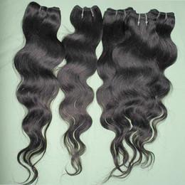 Wholesale Cheap Bundle Deals Hair - Natural black color fasthion 7A Queen texture #1B brazilian cheap human hair body wave 7 8pcs bundles deal fast shipping