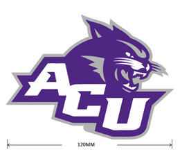 Wholesale Christian Stickers - Abilene Christian Wildcats car sticker Car reflective stickers