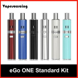 Wholesale Ego First - Joyetech eGo 1100mah Kit 100% Original 2mL With 1500mAh Battery Anti-leaking First Childproof Tank Lock System All-in-one Vaping Device