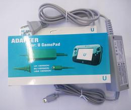 Cabo de alimentação de alta on-line-Alta Qualidade WIIU Controlador AC Adaptador Carregador de Cabo De Alimentação Para Wii u Carregador Magro para o jogo Wiiu