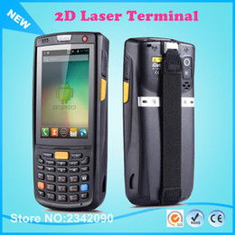 Wholesale Bit Low - Wholesale- 2D lowest price handheld pda terminal Support WI-FI bt GPS Waterproof Barcode Scanner For Android Tablet Pc 2D
