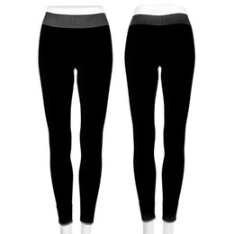 Wholesale Leggings Color Candy Stretch - Wholesale-Fashion Womens Stretch Fitness Cropped Pants Candy Color Elastic Jogging Sports Women Leggings Running Gym Clothes