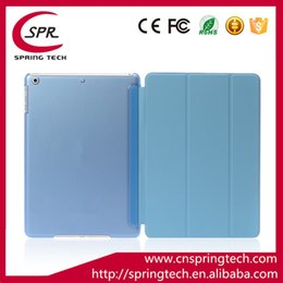 Wholesale China Table Folding - Fold Magnetic Smart Cover Matte Back Case For 9.7'' iPad 5 6 7 Table PC Folding Case