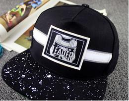 a3819651b1a korean cap street fashion summer Promo Codes - black Hat fashion Korean EAD Embroidered  Baseball flat