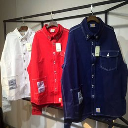 Wholesale United Tooling - Europe and the United States tide brand vetement three-color denim jacket tooling denim jacket shirt jacket men
