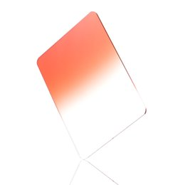"Wholesale Graduated Color Filter Cokin - 100x150mm 4""x6"" Graduated Orange Color Filter For Cokin Z-Pro LEE HITECH Holder"