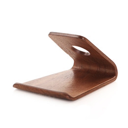 Wholesale iphone samdi - Original SAMDI Wood Holder Stand for iPhone 6 6plus for Samsung Note3 Note4 S4 S5 and all more than 5 inch Mobile Phone good quality