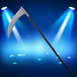 Wholesale Large Fork - Halloween Cosplay Party Decoration Masquerade Party Props Scary Death Sickle Devil Three Forks Ghost Axe Hatchet Props Large Size