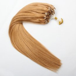 Canada double micro loop hair extension supply double micro loop elibess hair loop micro ring hair extension 08g s 200s lot color 27 double drawn micro pmusecretfo Images