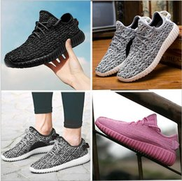 Wholesale West Point Print - (with Box)cheap Sneakers Training 2017 New Kanye Milan West Boost 350 Moonrock Oxford Tan Pirate Black Turtle dove Men Sports Shoes