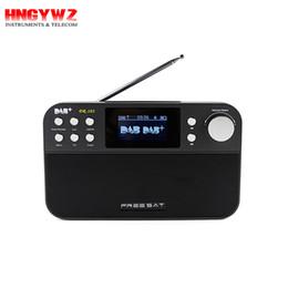 Wholesale Radio Broadcasting - Digital audio broadcasting DAB+ DR-103 Portable Digital Radio Receiver Black White Display Receptor Support DAB+ FM RDS Wavebands Radio