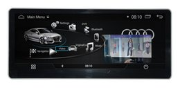 Wholesale Audi Gps Stereo - 10.25 inch 1280*480 Android 4.4.4 Car stereoc CAR DVD player GPS Navigation mltimedia for AUDI A4L 2015 2016 2017 2018