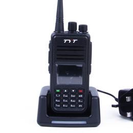 Wholesale Dmr Digital Radios - TYT Tytera MD-380 UHF 400-480MHz DMR Digital Radio 1000 Channels Walkie Talkie+ USB Programming Cable&CD md380