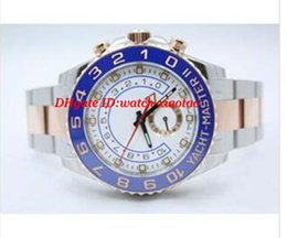 Wholesale Two Tone Bracelets - Luxury Watches Stainless Steel Bracelet TWO TONE 18K ROSE GOLD & STAINLESS STEEL WATCH 116681 44MM Automatic Mechanical MAN WATCH Wristwatch