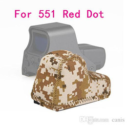 Wholesale Red Dot Sight Multi - Hot Sale Tactical Accessory Multi Color Protective Cover For 551 Red Dot Sight Free Shipping CL33-0098