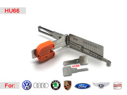 Wholesale Decoder Hu66 - Smart HU66 2 in1 auto pick and decoder locksmith lock pick tools for VW