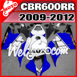 Wholesale Motorcycle Aftermarket - Top Sell Motorcycle Fairing Welmotocom Aftermarket Injection Mold Fairing For Honda CBR600RR CBR 600 RR 2009 2010 2011 2012 + 5 Free Giftss