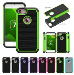 Wholesale Football Cases - Hybrid Rugged Impact Football Shockproof Heavy Duty Armor Hard Case for iPhone 7 Plus iPhone7 Samsung Galaxy S7 Edge Note 3 4 5 A7 A8 A9