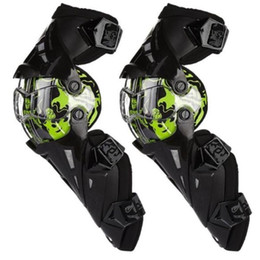 Wholesale Scoyco K12 - Scoyco K12 Green Protective kneepad Motorcycle Knee pad Protector Sports Scooter Motor-Racing Guards Safety gears Race brace CE Approval
