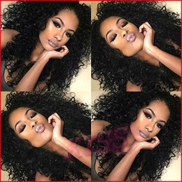 Wholesale Affordable Malaysian Curly Hair - Top Quality High Ponytail Full Lace Wigs Curly Virgin Lace Front Wig Affordable B Full Lace Human Hair Wigs