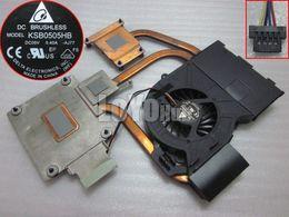 Wholesale Delta Fans Laptop - Free Shipping NEW For Hp dv6 dv6-6000 dv7-6000 laptop CPU Heatsink Cooling fan 641578-001 DELTA KSB0505HB -AJ77 4-Pin