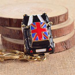 Wholesale London Key Chains - London Car Luxury Keychain Key Chain & Key Ring Holder Keyring Porte clef Gift Women Souvenirs Bag Pendant Car SZ-038