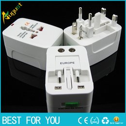 Wholesale Conversion Sockets - Travel abroad travel universal conversion plug socket Global power converter British standard European standard American standard gb