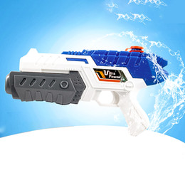 Wholesale Classic Toy Guns - 32 CM Air Pressure Water Gun Blaster Squirter Summer Beach Garden Squirt Toys Single Nozzle Water Toys for Children Party Game
