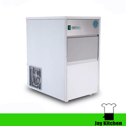 Wholesale Ice Drink Maker - 110V commercial ice maker machine 25kg 24h ice cube making machine cold drink shop ice block vending machine