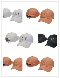 Wholesale Good Sun Hats For Men - Good Quality new LIT Bone Hat Polo Baseball Cap Adjustable Hip Hop Snapback Sun Caps For Men Women adjustable letter hat