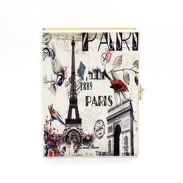 Wholesale Cheap Designer Handbag Brands - 2017 New Retro Printing Pattern Party Bag Women's Fashion Creative Handbag Designer Brand Cheap Bag Free Shipping