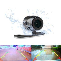 Wholesale Port Video Car - LEEWA Waterproof 2.5mm (4Pin) Jack Port Universal Night Vision Car Rear View Camera For DVR Video Recorder #1304