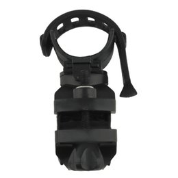 Wholesale Bike Flashlight Clamp Holder - 360 Degree Cycling Bike Mount Holder for LED Flashlight Torch Clip Clamp free shipping