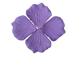 Wholesale Fake Petals - Fabric Rose Flower Petals Blue Wholesale 2000pcs lot Wedding Accessories Fashion Fake Petalas Artificiais Flowers petali di rosa Colorful