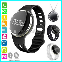 Wholesale Fitness Motion - Bluetooth Smart Watch E07 IP67 Waterproof Sport Bicycle-riding Smartband Bracelet Wristband GPS Motion Trail Reminder For Android Phone IOS