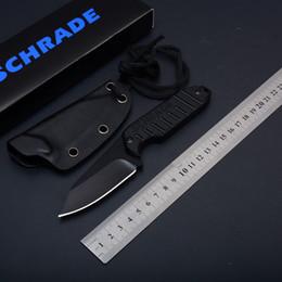 K getriebe online-SCHRADE SCHF16 CF16 Feststehendes Blatthalsmesser G10 Griff Tactical Camping Jagd Überlebenstasche EDC Werkzeuge K Mantel Outdoor Gear Collection