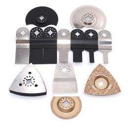 Wholesale Wholesale Saw Blades - 13pcs blade grinder whe saw kit renovator tools solid durable good quality for multimaster oscillating power tools parts