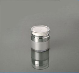Wholesale Wholesale Vacuum Products - Wholesale- 15G Vacuum Cream Jar Airless Skin Care Products Packaging Bottles