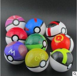 Wholesale Kids Pop Up - 7CM Poke Ball Toys Pokeball Types 15 styles Poke Cosplay Pop-up Master Great Ultra GS Gift Kid Children