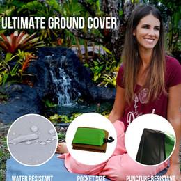 Wholesale Waterproof Outdoor Mattress - 140*152CM Sand Free Mat Blanket Camping Mat Outdoor Picnic Foldable Mattress Camping Sand cushion Beach Mat 50pcs IB223