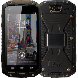 Wholesale Chinese Waterproof Cell Phone - New Origina Discovery V9 IP68 Rugged Phone MTK6572 4GB ROM WCDMA 3G Real Waterproof Shockproof Dual SIM card Cell Mobile phone Smartphone