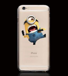 Wholesale Despicable Cell - 2016 hot sale Despicable me 3 Minions Cell Phone Accessories Cell Phone Cases for iphone5s iphone6 4.7 iphone6 plus cellphone case