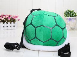 "Wholesale Plush Toy Turtle 35cm - Super Mario Bros 35cm 13.5"" Super Mario Bros Cournot Turtle Koopa Troopa Shell backpack Plush Toy Figure"