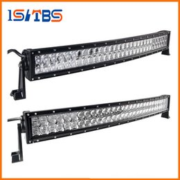 Wholesale 12v Atv - LED Car light 4D 5D 32 inch 300W Curved LED Work Light Bar for Tractor Boat OffRoad 4WD 4x4 Truck SUV ATV Combo Beam 12V 24v
