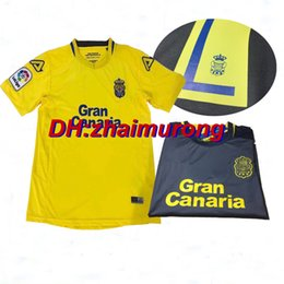 Wholesale Quality Remy - 2017 18 Las Palmas Home yellow away gray Soccer Jerseys 17 18 Las Palmas REMY CALLERI shirts New Leisure Best Quality Futbol Camisa